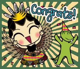 Cute Garuda Nusantara Fairy sticker #8192302