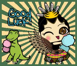 Cute Garuda Nusantara Fairy sticker #8192303