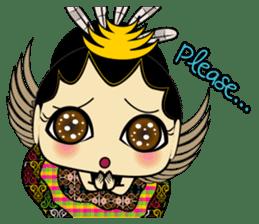 Cute Garuda Nusantara Fairy sticker #8192304