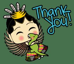 Cute Garuda Nusantara Fairy sticker #8192306