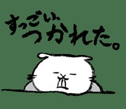 Rabbit Knight sticker #8196236