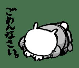 Rabbit Knight sticker #8196240