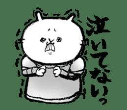Rabbit Knight sticker #8196243