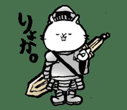 Rabbit Knight sticker #8196244