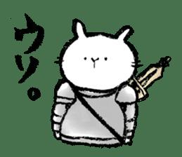 Rabbit Knight sticker #8196247