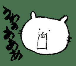 Rabbit Knight sticker #8196259