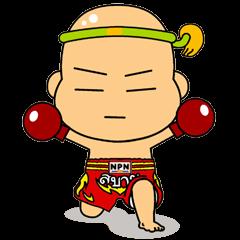 Muay Thai boy