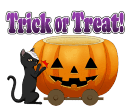 Halloween parade sticker #8227175