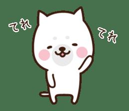 Beware of the dog, Haku's ordinary days. sticker #8242765