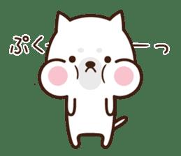 Beware of the dog, Haku's ordinary days. sticker #8242768