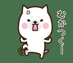 Beware of the dog, Haku's ordinary days. sticker #8242769