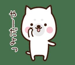 Beware of the dog, Haku's ordinary days. sticker #8242770