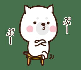 Beware of the dog, Haku's ordinary days. sticker #8242771