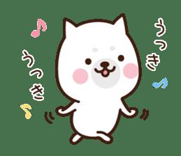 Beware of the dog, Haku's ordinary days. sticker #8242781