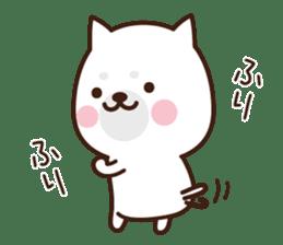 Beware of the dog, Haku's ordinary days. sticker #8242795
