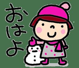 Japanese girl coto-chan vo.15 sticker #8251036