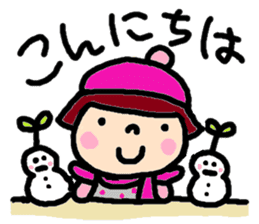 Japanese girl coto-chan vo.15 sticker #8251037