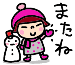 Japanese girl coto-chan vo.15 sticker #8251048