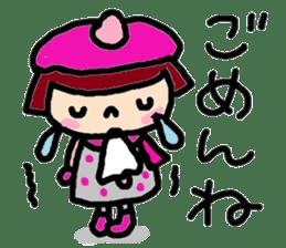 Japanese girl coto-chan vo.15 sticker #8251053