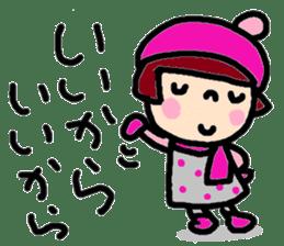 Japanese girl coto-chan vo.15 sticker #8251055
