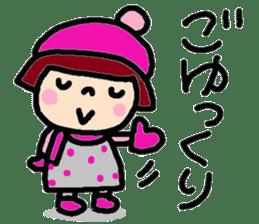 Japanese girl coto-chan vo.15 sticker #8251060