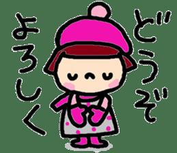Japanese girl coto-chan vo.15 sticker #8251061