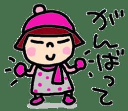 Japanese girl coto-chan vo.15 sticker #8251072