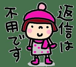 Japanese girl coto-chan vo.15 sticker #8251075