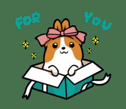 Corgi Dog KaKa - Cutie sticker #8253476