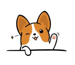 Corgi Dog KaKa - Cutie sticker #8253478