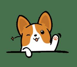 Corgi Dog KaKa - Cutie sticker #8253478