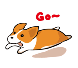 Corgi Dog KaKa - Cutie sticker #8253480