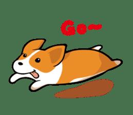 Corgi Dog KaKa - Cutie sticker #8253480