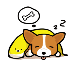 Corgi Dog KaKa - Cutie sticker #8253484