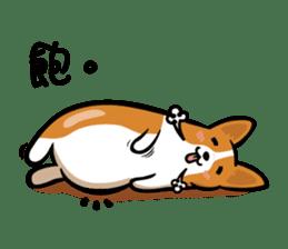 Corgi Dog KaKa - Cutie sticker #8253487