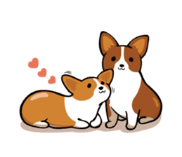 Corgi Dog KaKa - Cutie sticker #8253489