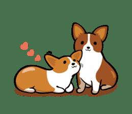 Corgi Dog KaKa - Cutie sticker #8253489