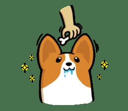 Corgi Dog KaKa - Cutie sticker #8253494