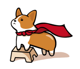 Corgi Dog KaKa - Cutie sticker #8253497