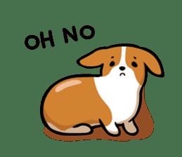 Corgi Dog KaKa - Cutie sticker #8253505