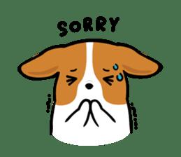 Corgi Dog KaKa - Cutie sticker #8253506