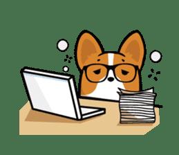 Corgi Dog KaKa - Cutie sticker #8253508