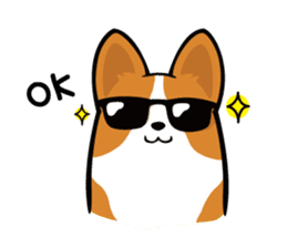 Corgi Dog KaKa - Cutie sticker #8253513