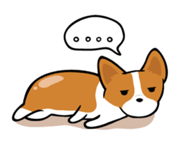 Corgi Dog KaKa - Cutie sticker #8253514