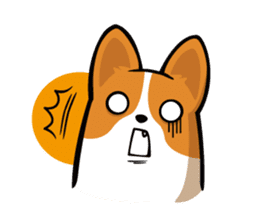Corgi Dog KaKa - Cutie sticker #8253515