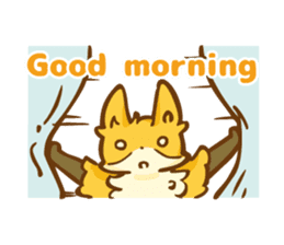 The story of Fox 1-5 (greetings) [Eng] sticker #8256604