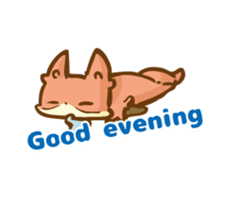 The story of Fox 1-5 (greetings) [Eng] sticker #8256607