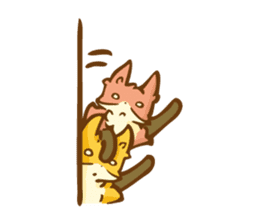 The story of Fox 1-5 (greetings) [Eng] sticker #8256610