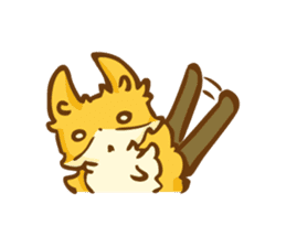 The story of Fox 1-5 (greetings) [Eng] sticker #8256614