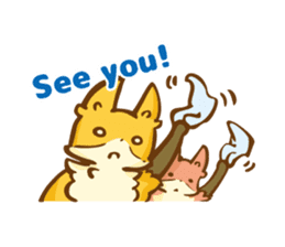 The story of Fox 1-5 (greetings) [Eng] sticker #8256615